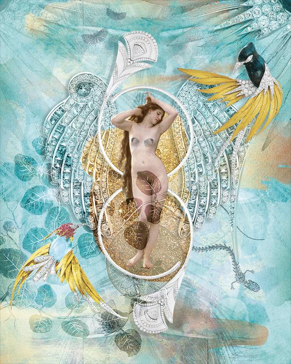 Célia Mastorchio-Fabbri birds in jewelry Boucheron