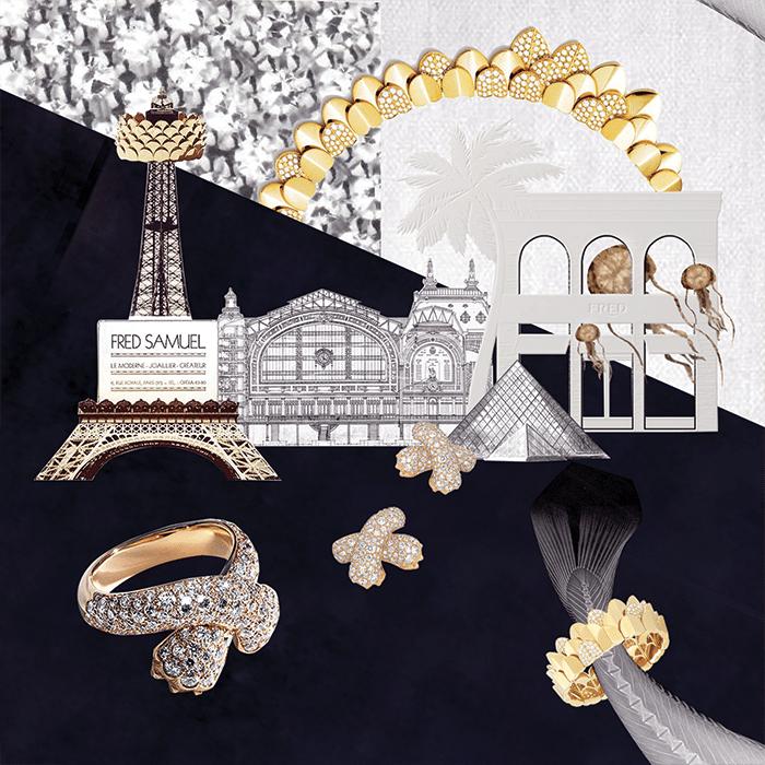 Célia Mastorchio-Fabbri Fred jewelry light Paris