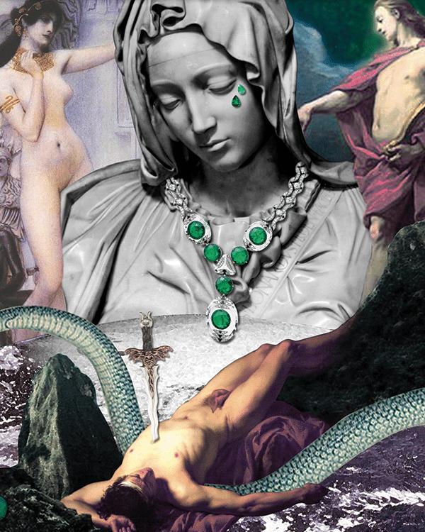 Célia Mastorchio-Fabbri symbolic of jstones Cartier